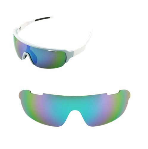Walleva Replacement Lenses for POC Half Blade Sunglasses Multiple Options