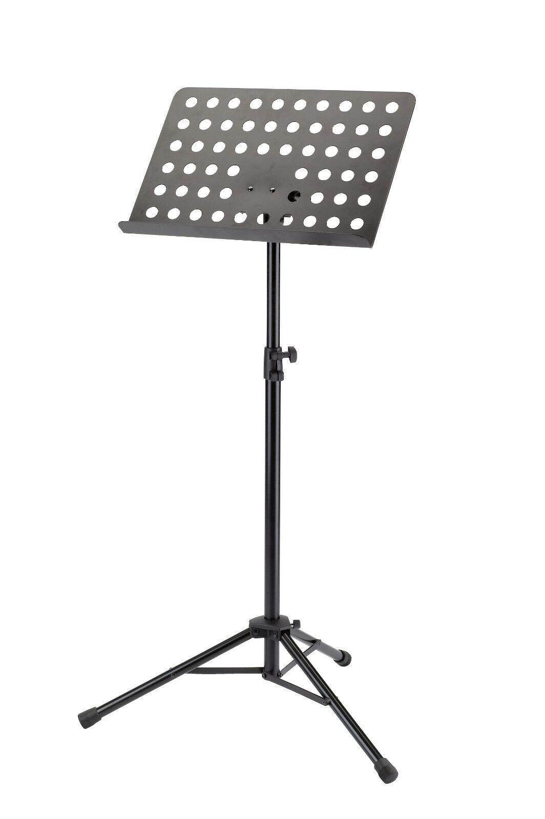 König & Meyer 11940 Orchesternotenpult schwarz, Notenpult, Music Stand