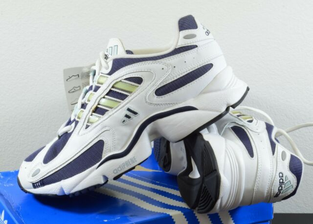 NEW Womens adidas Ozweego Classic Size 10 White Blue Running Shoes Vintage  2003 f56471d70