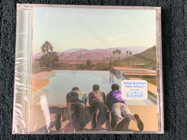 Jonas Brothers – Happiness Begins CD [Sucker, Only Human] small crack NEW SEALED