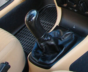 Genuine-Leather-Gear-Shift-Boot-Gaiter-Cover-Sleeve-fit-Skoda-Octavia-I-1996-04