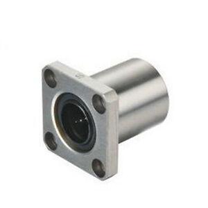 1pcs LMK13UU 13mm Square Flange Type Linear Bearing Ball Bushing CNC part