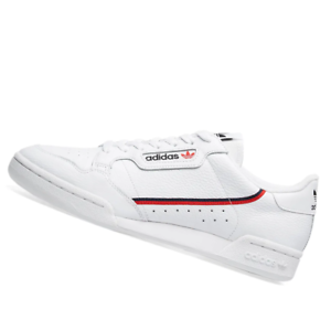 ADIDAS-MENS-Shoes-Continental-80-White-Scarlet-amp-Collegiate-G27706