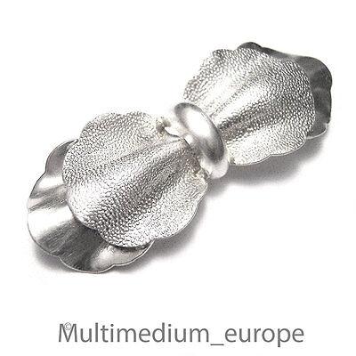 Art Deco 835 Er Silber Brosche Schleife Silver Brooch Tie Loop Knot Bow
