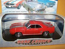 1969 CHEVROLET CAMARO TRIBUTE CHAMPIONS ROAD CHAMPS COLLECTIBLES NIB 1:43 1999