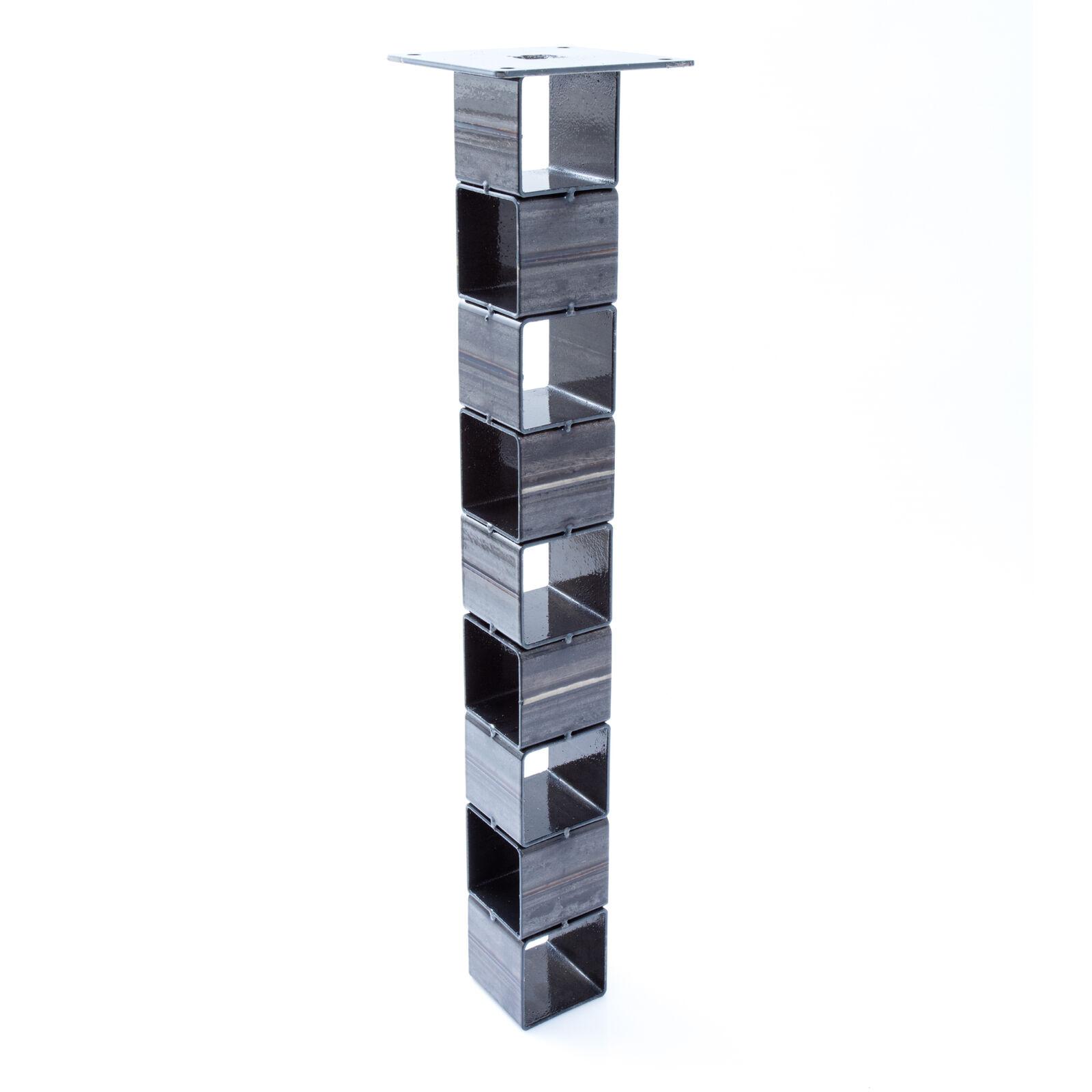 2x Tischbein Tisch selber bauen Bausatz Tischgestell Loft Eisen Steel Designer
