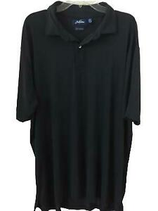 Jack-Nicklaus-size-2XL-mens-Polo-Shirt-black-short-sleeve-dry-range