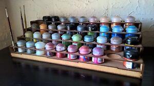 Paint-Stand-40-pots-rack-storage-Workshop-Warhammer-Wargames-citadel-paints-GW