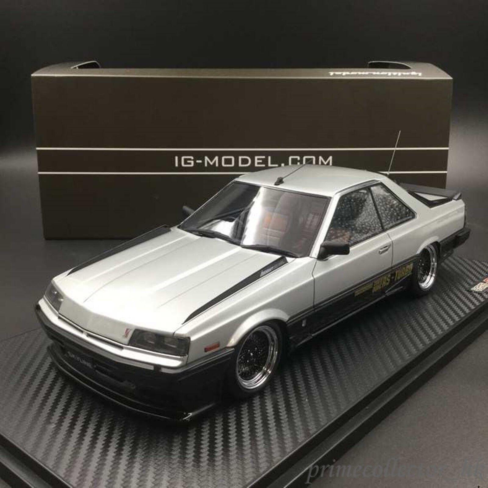 entrega rápida Ignición Ignición Ignición Modelo 1 18 Nissan Skyline 2000 Rs-X Turbo-C (R30) IG0991 Plata  ventas en línea de venta