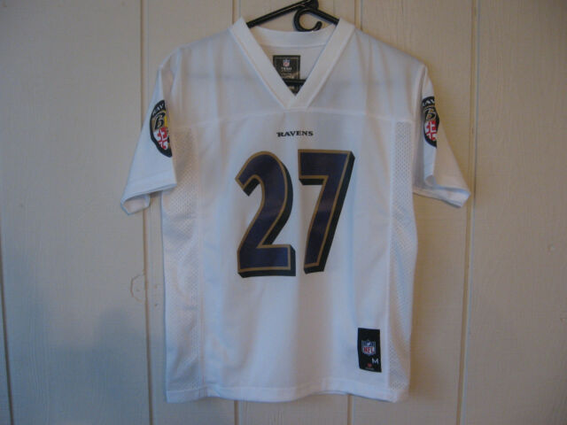 4c468d4c713 Buy Baltimore Ravens #27 Ray Rice NFL White Jersey Youth Large 14/16 ...