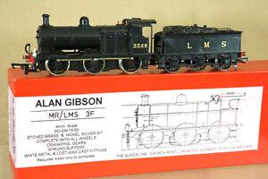 ALAN-GIBSON-KIT-MONTADO-LNER-LMS-Ex-MR-BR-0-6-0-CLASE-3F-LOCO-3259-EN-CAJA-ng