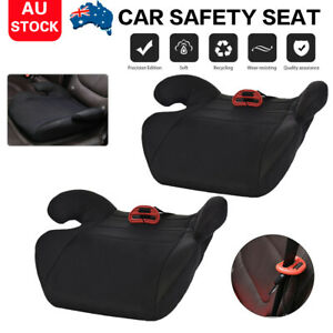 Car-Booster-Seat-Safety-Chair-Cushion-Pad-For-Toddler-Children-Kids-Sturdy-Black