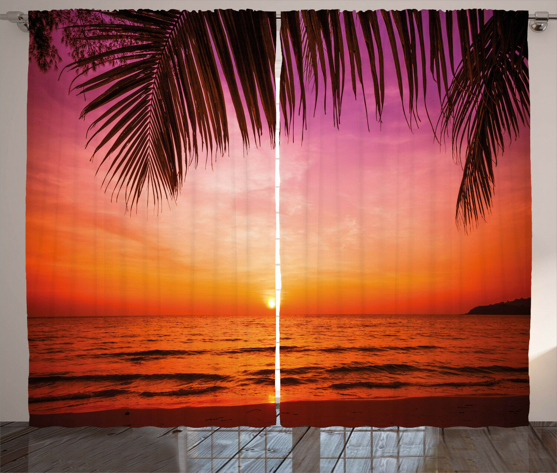 Vivid Fabric Fabric Fabric Curtains 2 Panel Set Decoration 5 Größes Window Drapes 568ada