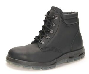 Black Leather RedbacK Boots USABK Outback Lace Up Steel Toe
