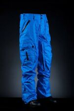 2014 NWT INI COOPERATIVE EXPEDITION SNOWBOARD PANTS L $240 BLUE WIRE PLAID