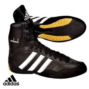 Image is loading adidas-PROBOUT-Boxing-Leather-Shoes-132878