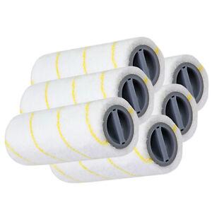 EMEXIN FC3D FC3 FC5 amarillo Juego de rodillos para limpieza de suelos para Karcher FC3 FC5