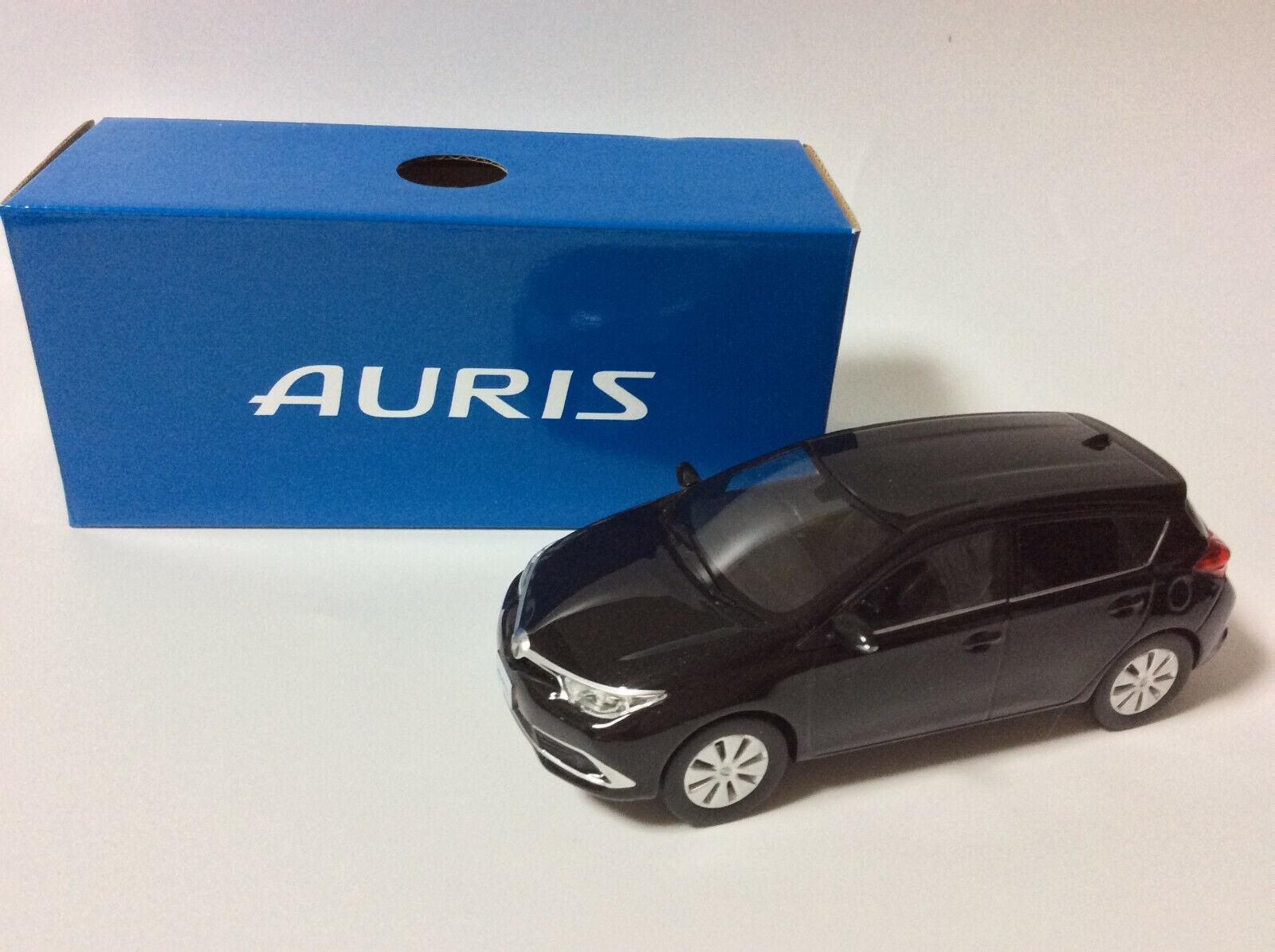 Toyota Auris NOIR MICA vitrine  afficher les objets boîte bleue  économiser sur le dédouanement