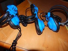 3 lakeshore learning headphones with 1/4 jack, all tested and working