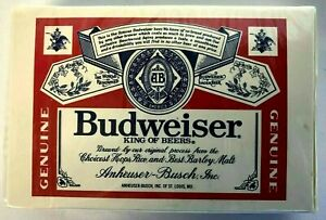 Budweiser-King-of-Beers-Playing-Cards-Anheuser-Busch-New-In-Box-Sealed