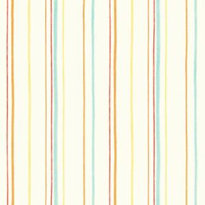 Carrousel-Mini-Rayure-Papier-Peint-Fine-Decor-Bleu-Orange-Jaune-DL21131