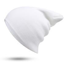 f7b0042826e Mens Womens Plain Beanie Hat Knit Ski Cap Warm Solid Color Winter Cuff  Thermal