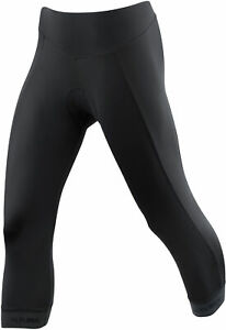 Tights & Pants Purposeful Altura Progel 3 Womens 3/4 Cycling Tights Black Handsome Appearance