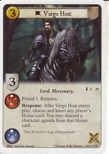 3 x Vargo Hoat AGoT LCG 1.0 Game of Thrones The Champion's Purse 39