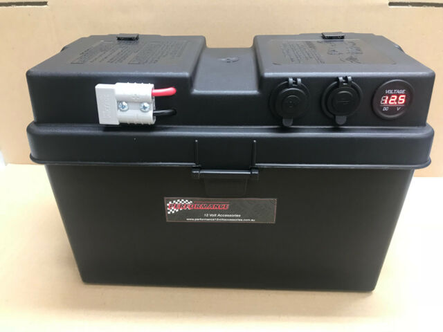 Dual Battery System, Portable Battery Box, AGM Caravan 4x4 DEEP CYCLE UP 2 130AH