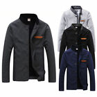 NEW Men's Jacket Slim Collar Coat Overcoat Winter Warm Casual Outwear Jacket