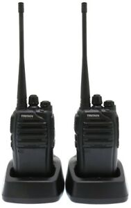 Details about TRITAN CONNECT UHF 5 WATT WALKIE-TALKIE TWO WAY RADIOS & MP3  STYLE EARPIECES x 2