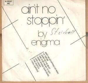"7"" Single: Enigma - Ain't No Stoppin' - Münster, Deutschland - 7"" Single: Enigma - Ain't No Stoppin' - Münster, Deutschland"