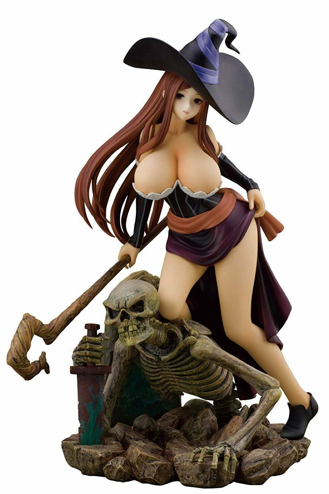 Dragon`s Crown Sorceress 1 8 Scale Figure Alphamax from Japan New F S