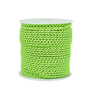 50M Reflective Rope Paracord Outdoor Gear Lanyard 1 Inner Strand Parachute P7O5