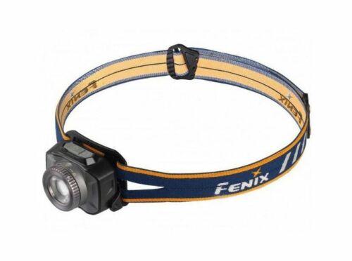 Fenix 09FN05 Stirnlampe HL40R Grau Blau Kopflampe Head Light Kopfleuchte
