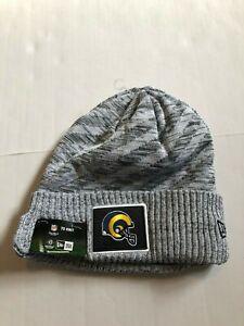 Los Angeles Rams Super Bowl LIII.Gray New Era Knit Hat FREE POSTAGE ... de4db520d
