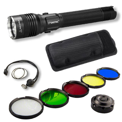 Eagletac SX25L2 1305Lm Rechargeable Flashlight XM-L2 Kit Model -Battery Included