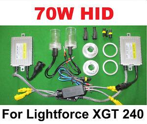 70W 6000K Fast Start HID Conversion Kit for Lightforce XGT 240 Spot Light