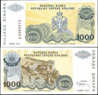 CROATIA 10,000,000 10 Million DINARA PINK P R34 UNC