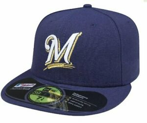 MLB-Milwaukee-Brewers-Game-AC-On-Field-59Fifty-Fitted-Cap-758-1