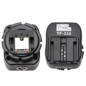 Détails Sur Pixel Tf 335 Sabot Adaptateur Convertisseur Avec Pc Port Pour Sony Mi Convertir Pour Sony Afficher Le Titre Dorigine