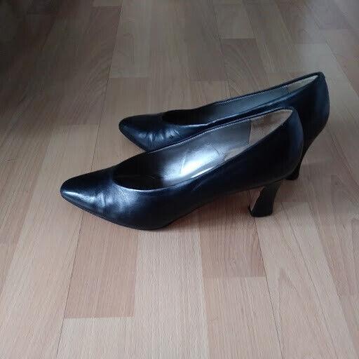 Magik di Amalfi pompe donne scarpe  di dimensioni 7.5 nero  100% nuovo di zecca con qualità originale