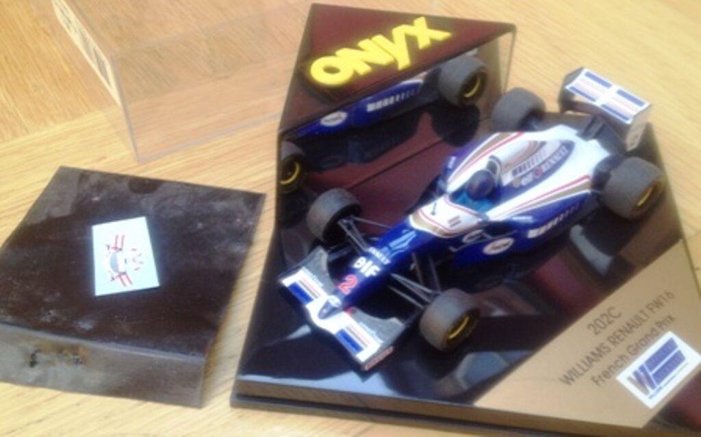ONYX 202C -2 WILLIAMS RENAULT FW16 F1 die cast model racing car Mansell 1 43