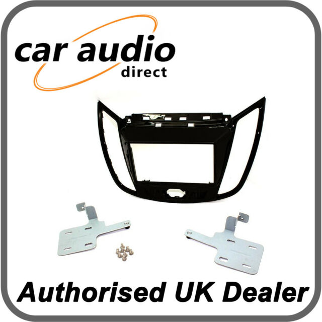 CT23FD29 Car CD Stereo Fascia Surround Panel For FORD Kuga 2013/> Piano Black
