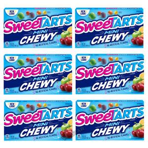 Sweetarts Mini Chewy Tangy Candy Theatre Box 106 3g 2 4 6 Boxs Ebay