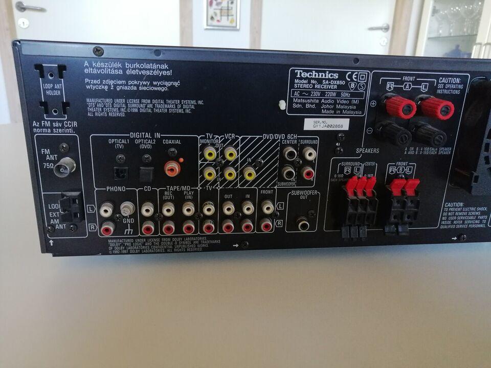 Stereoanlæg , Technics, SA DC850