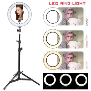 26cm-Light-Ring-Lumiere-Anneau-LED-Eclairage-Kit-Camera-Photo-Video-Dimmable-G