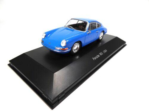 ATLAS NOREV Diecast Model Car 001 Porsche 901 1964-1:43 collection 911