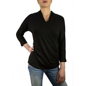 Marella-Haway-Maglia-T-Shirt-Donna-Col-Nero-tg-varie-40-OCCASIONE