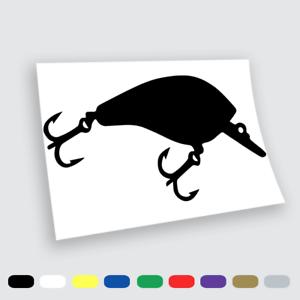 Vinyl stickers wall stickers prespaziati Fishing Fish Minnow Car Notebook Love